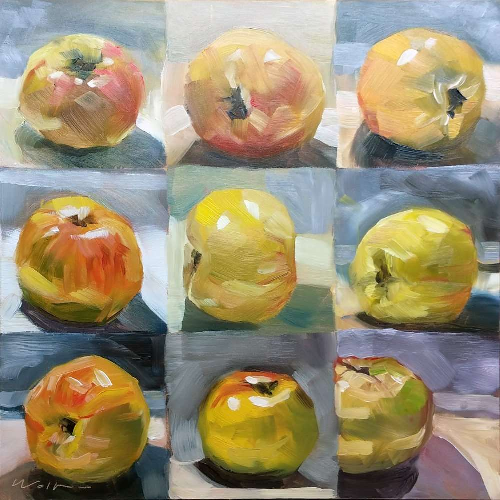 Nine Apples